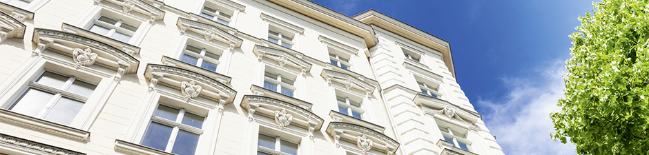 Saubere Fassade